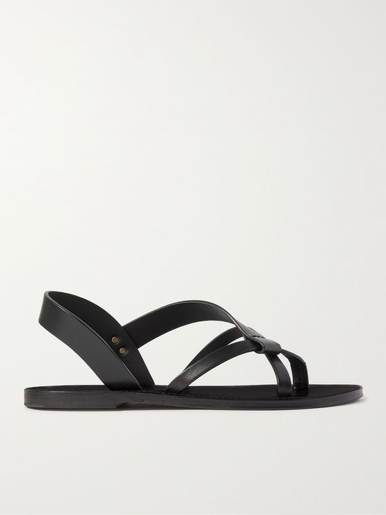 SAINT LAURENT Leather Sandals