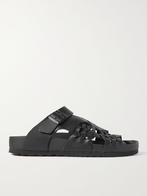 BIRKENSTOCK + Central Saint Martins Tallahassee Full-Grain Leather Sandals