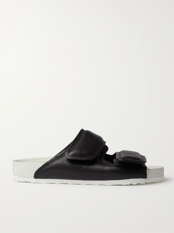 BIRKENSTOCK + Dingyun Zhang Cosy Padded Leather Sandals