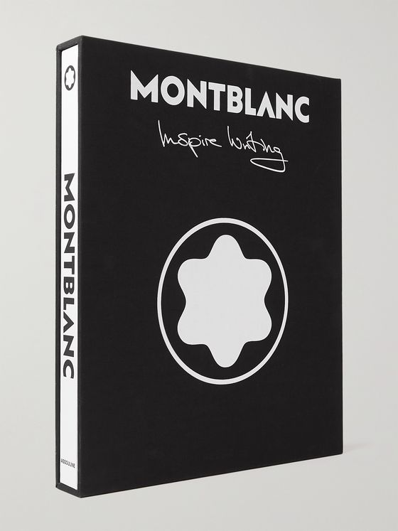ASSOULINE Montblanc: Inspire Writing Hardcover Book