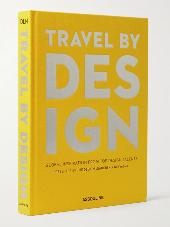 ASSOULINE Travel by Design Hardcover Book