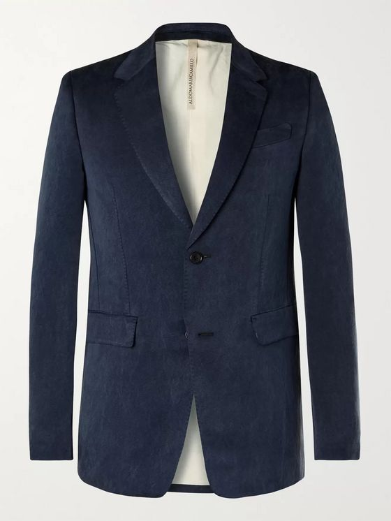 ALDOMARIACAMILLO Washed-Silk Blazer