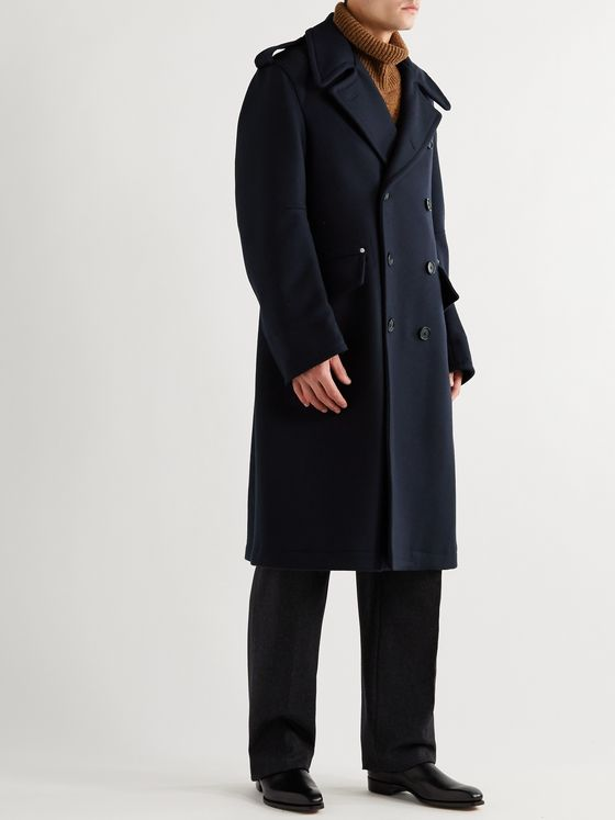 ALDOMARIACAMILLO Double-Breasted Wool Coat