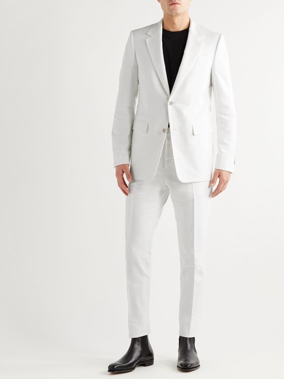 ALDOMARIACAMILLO Cotton-Moleskin Suit Jacket