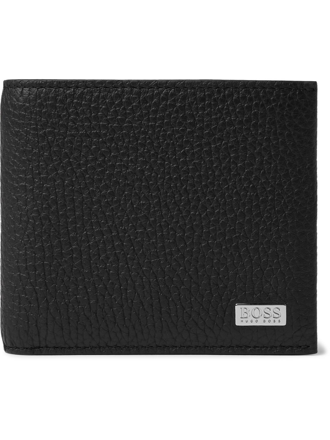 Hugo Boss - Full-Grain Leather Billfold Wallet - Men - Black