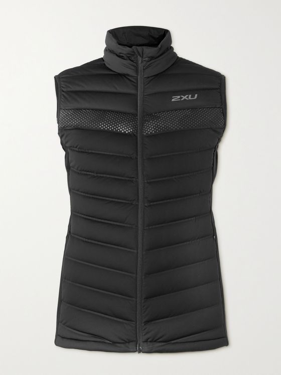 2XU Ignition Insulation Quilted Stretch-Shell Down Gilet