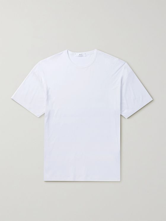 MR P. Cotton and Silk-Blend Jersey T-Shirt