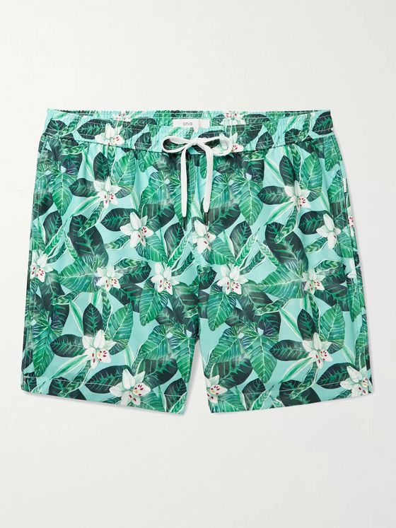 ONIA Charles Printed Swim Shorts