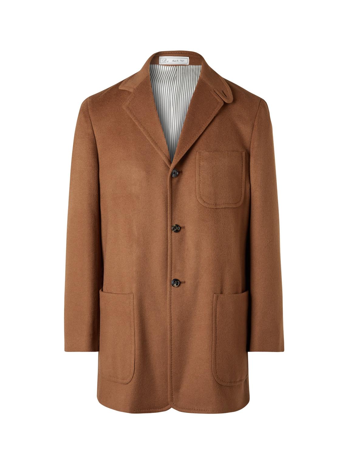 umit benan b - cashmere jacket - men - brown - it 48