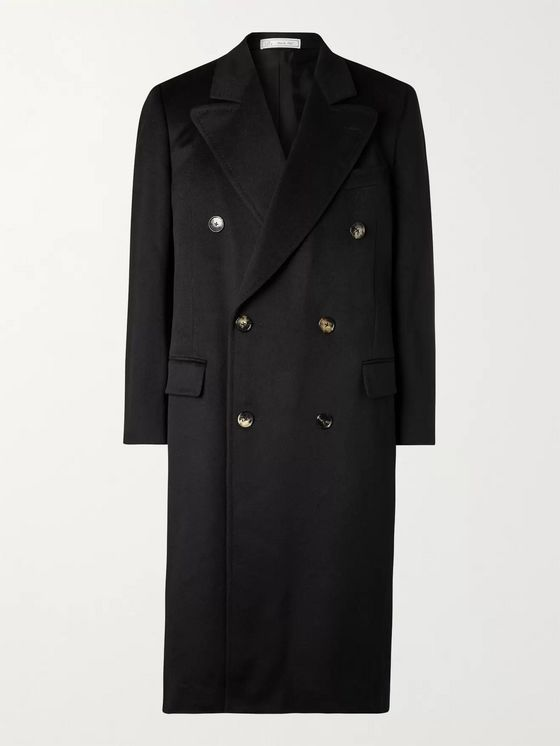 UMIT BENAN B+ Double-Breasted Cashmere Coat