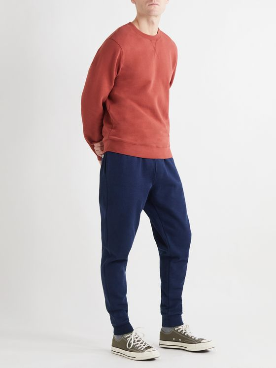 Oliver Spencer Loungewear Milner Tapered Cotton-Jersey Sweatpants