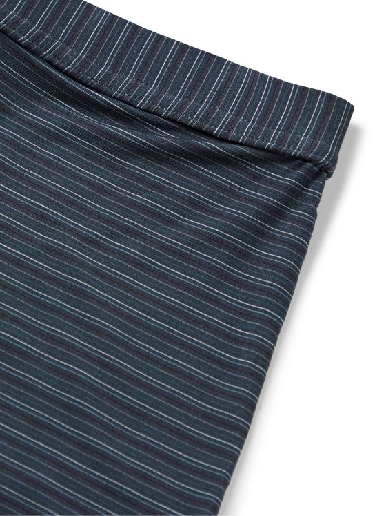 ERMENEGILDO ZEGNA Striped Stretch-Modal Boxer Briefs