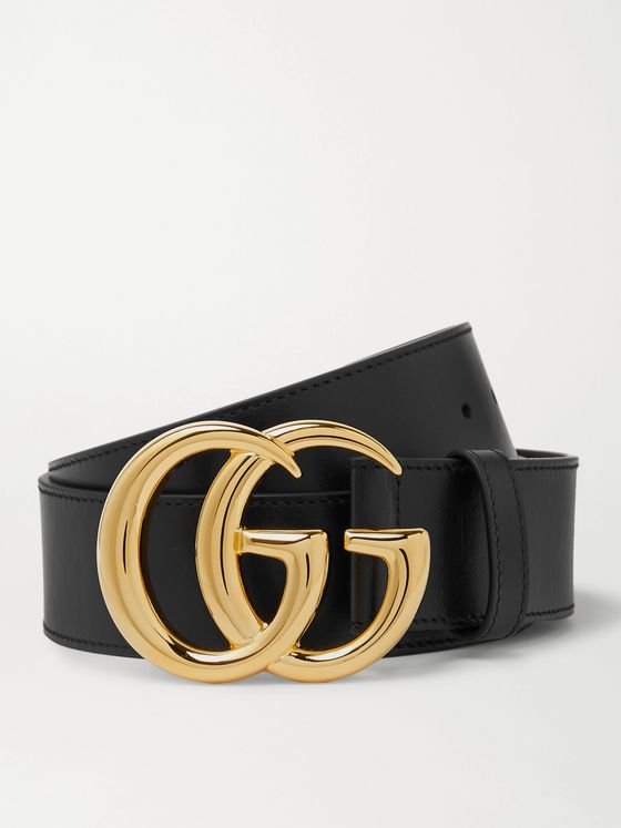 GUCCI 4cm Marmont Leather Belt