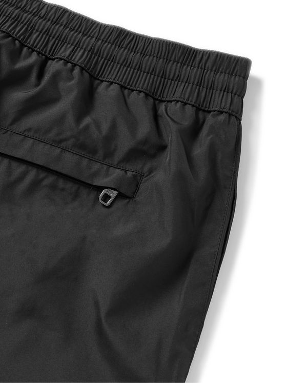 DOLCE & GABBANA Mid-Length Logo-Appliquéd Swim Shorts