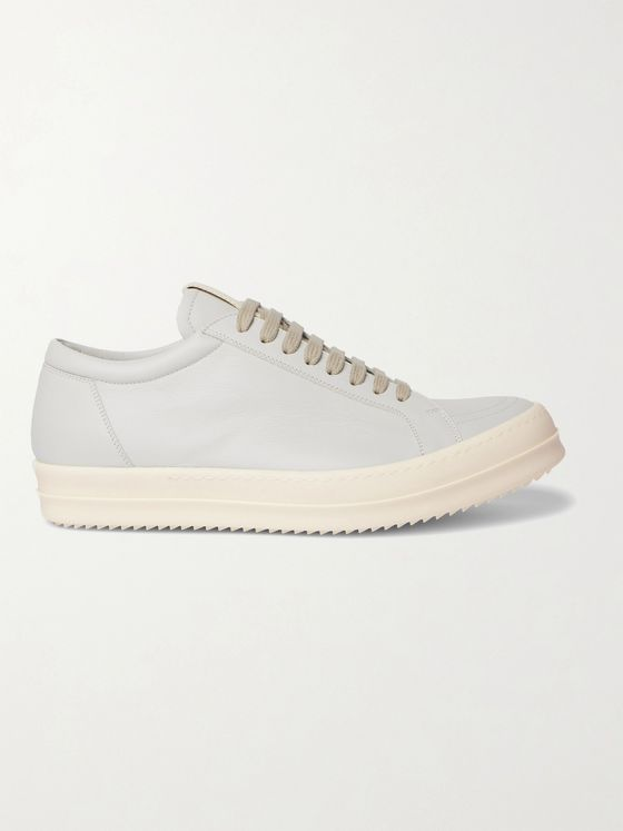 RICK OWENS Vintage Low Leather Sneakers
