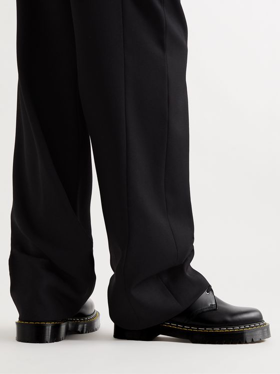 RICK OWENS + Dr. Martens Bex Leather Derby Shoes