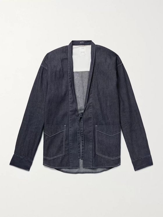 VISVIM Lhamo Denim Shirt