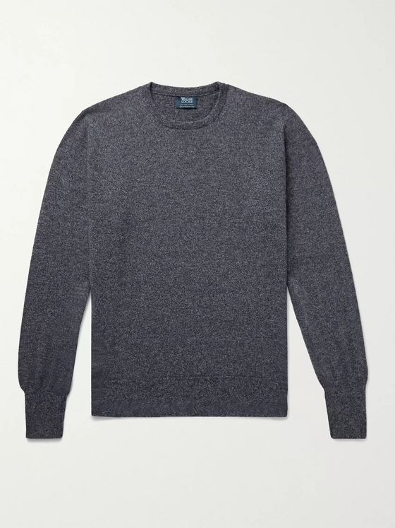 William Lockie Mélange Cashmere Sweater