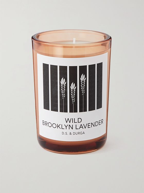 D.S. & Durga Wild Brooklyn Lavender Scented Candle, 200g
