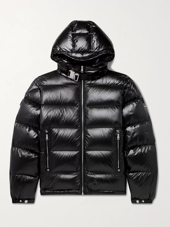 MONCLER GENIUS 6 Moncler 1017 ALYX 9SM Quilted Nylon Hooded Down Jacket