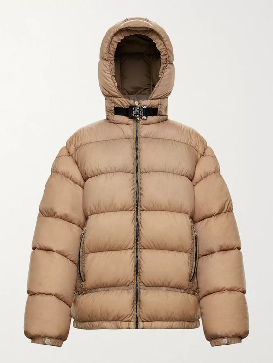 Moncler Genius 6 Moncler 1017 ALYX 9SM Quilted Shell Down Hooded Jacket