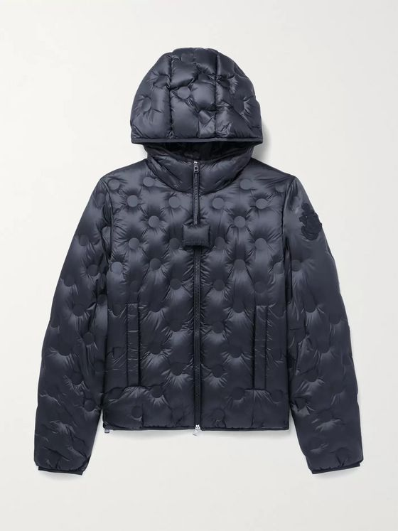 MONCLER GENIUS + 1 JW Anderson Abbotts Quilted Nylon Hooded Down Jacket