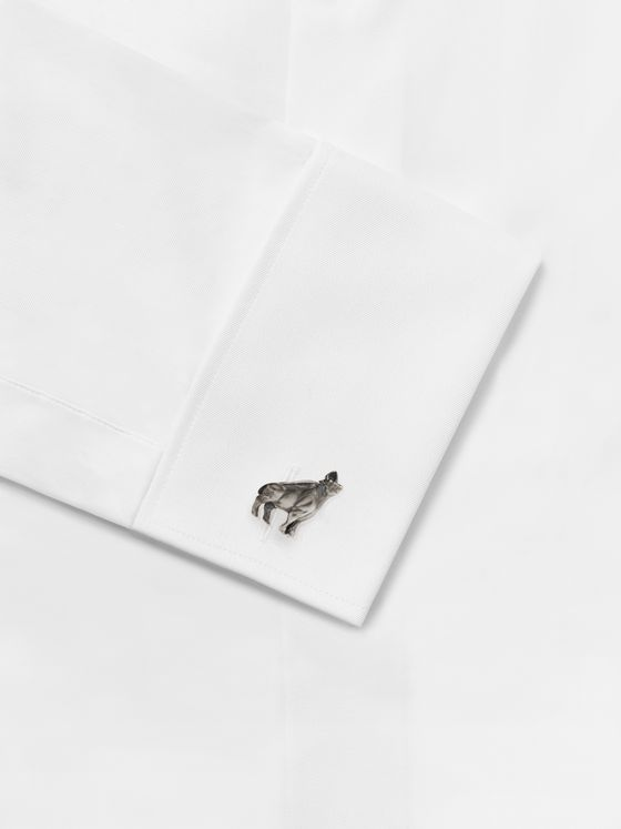 MONTBLANC Year of the Ox Sterling Silver Cufflinks