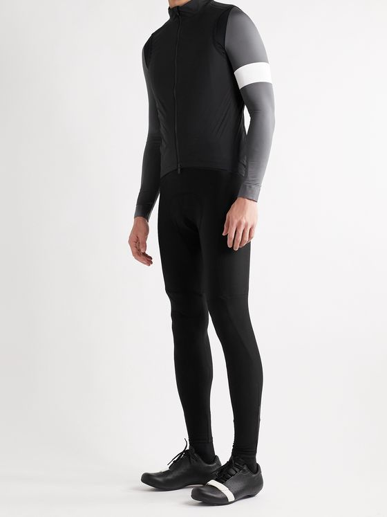 RAPHA Core Winter Fleece-Back Stretch-Jersey Cycling Bib Tights
