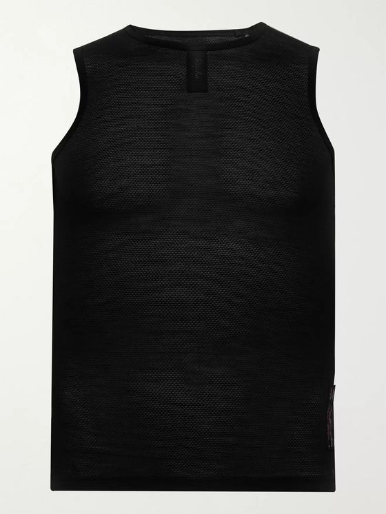 RAPHA Wool-Blend Mesh Cycling Base Layer
