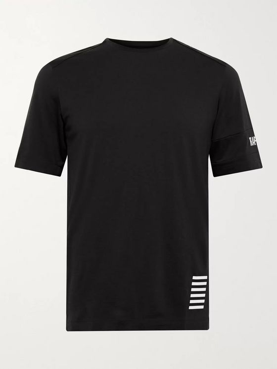 RAPHA Pro Team Transfer Logo-Print Wool-Blend Jersey T-Shirt