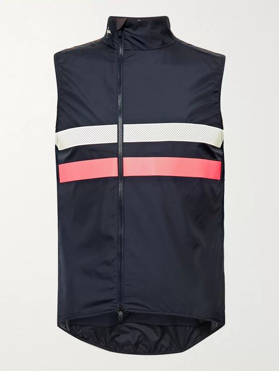Rapha Brevet Mesh-Panelled Shell Cycling Gilet