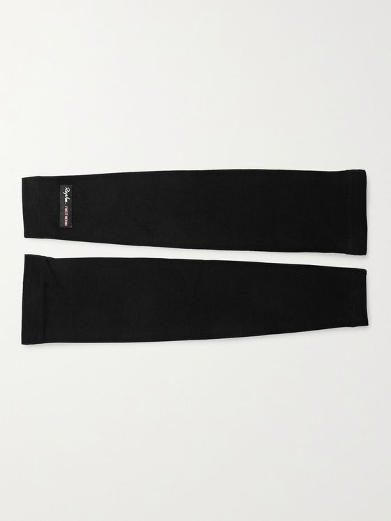 RAPHA Logo-Appliquéd Stretch Merino Wool Arm Warmers