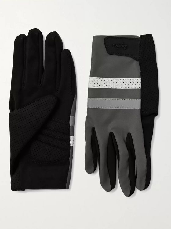 RAPHA Brevet Reflective-Trimmed Polartec Cycling Gloves