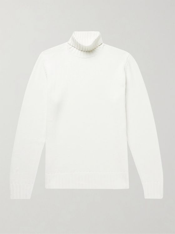 THOM SWEENEY Merino Wool Rollneck Sweater