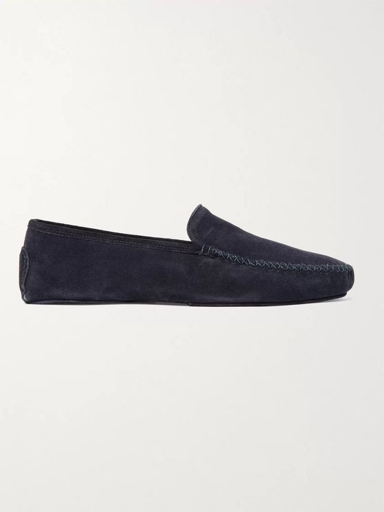 THOM SWEENEY Suede Slippers