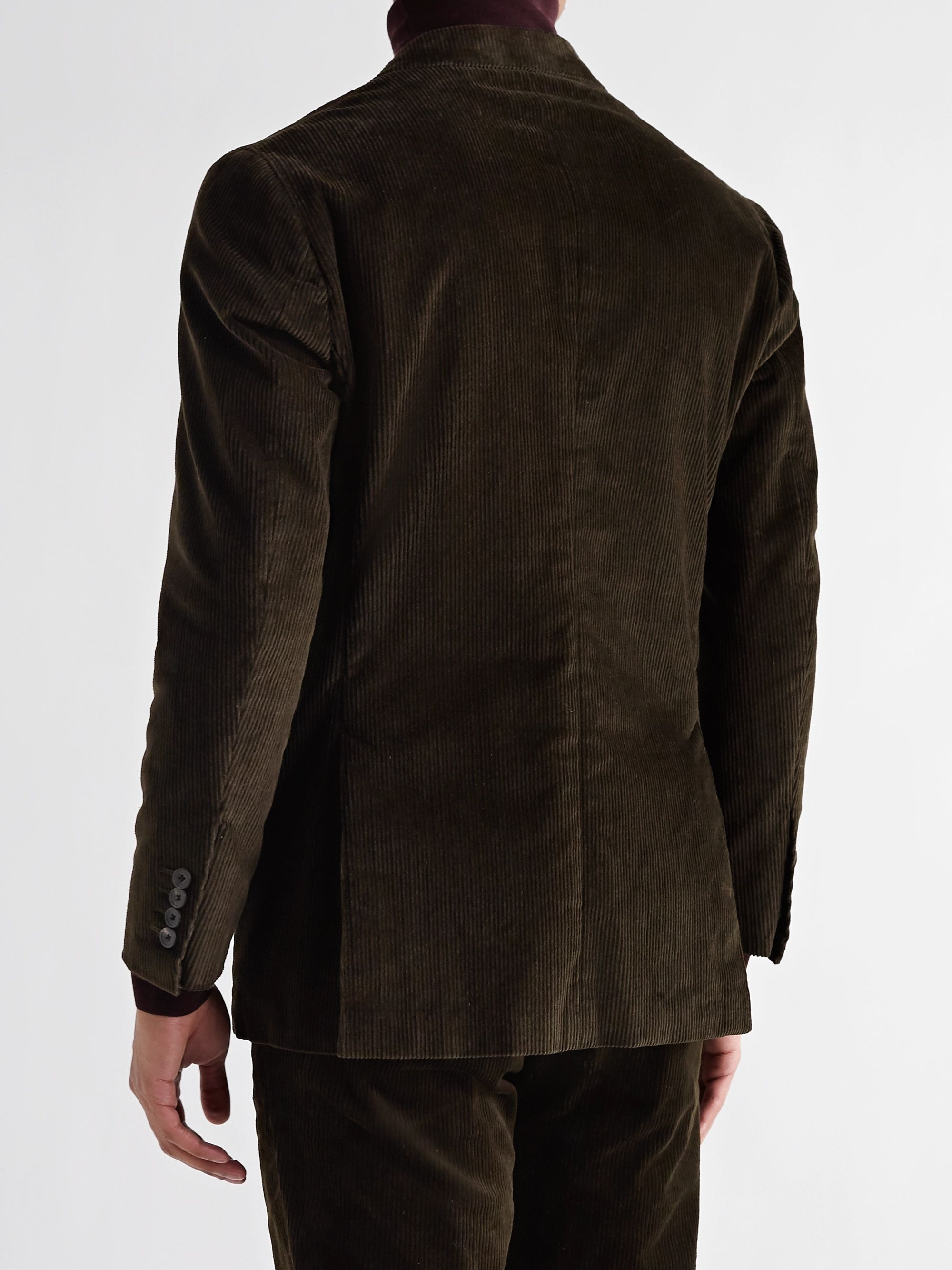 THOM SWEENEY Stretch-Cotton Corduroy Suit Jacket