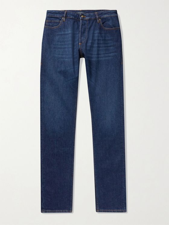 THOM SWEENEY Slim-Fit Denim Jeans
