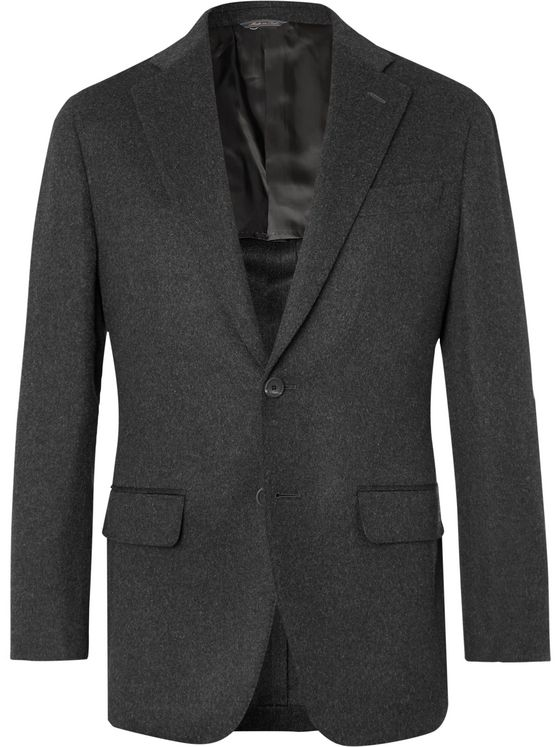 THOM SWEENEY Unstructured Baby Camel Hair Blazer