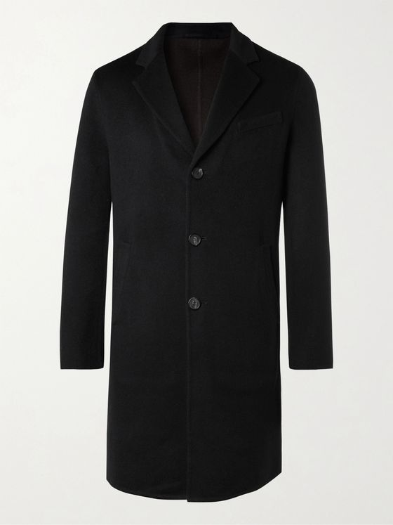 THOM SWEENEY Slim-Fit Double-Faced Cashmere Overcoat