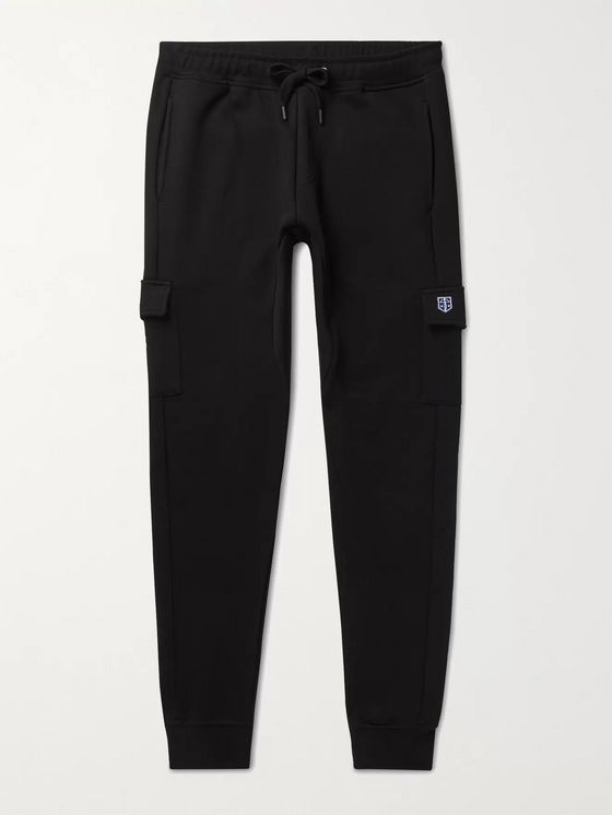 Schiesser Karl Slim-Fit Tapered Cotton-Jersey Sweatpants