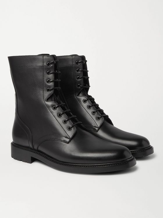 CELINE HOMME Leather Boots