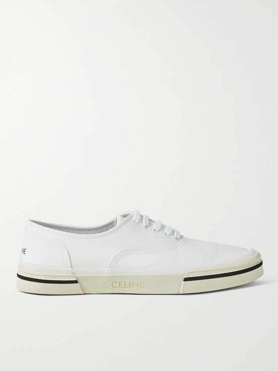CELINE HOMME Elliot Canvas Sneakers