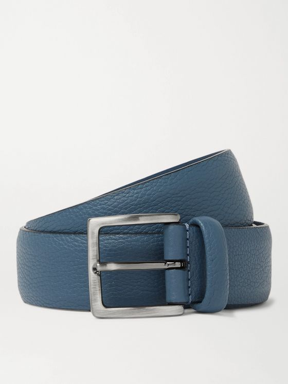 Anderson's 3.5cm Full-Grain Leather Belt