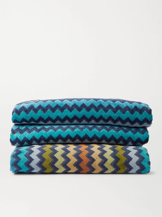 Missoni Home Warner Set of Five Cotton-Terry Towels