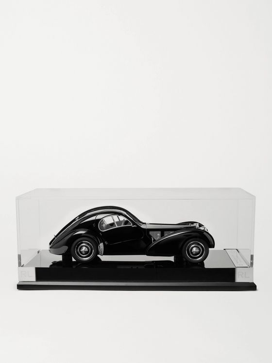 Ralph Lauren Home + Amalgam Collection Bugatti 57SC Atlantic Coupe 1:18 Model Car