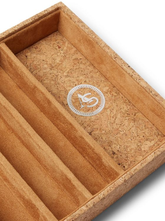 WOLF Analog/Shift 1976 Cork Watch Tray