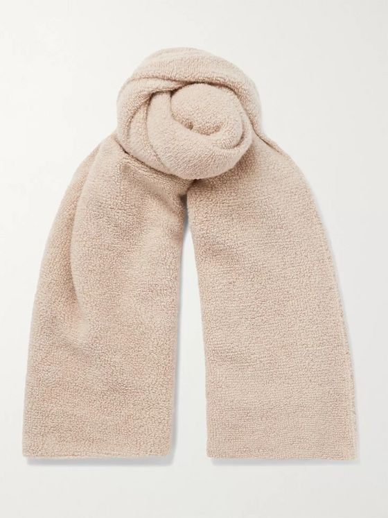 Johnstons of Elgin Cashmere-Fleece Scarf