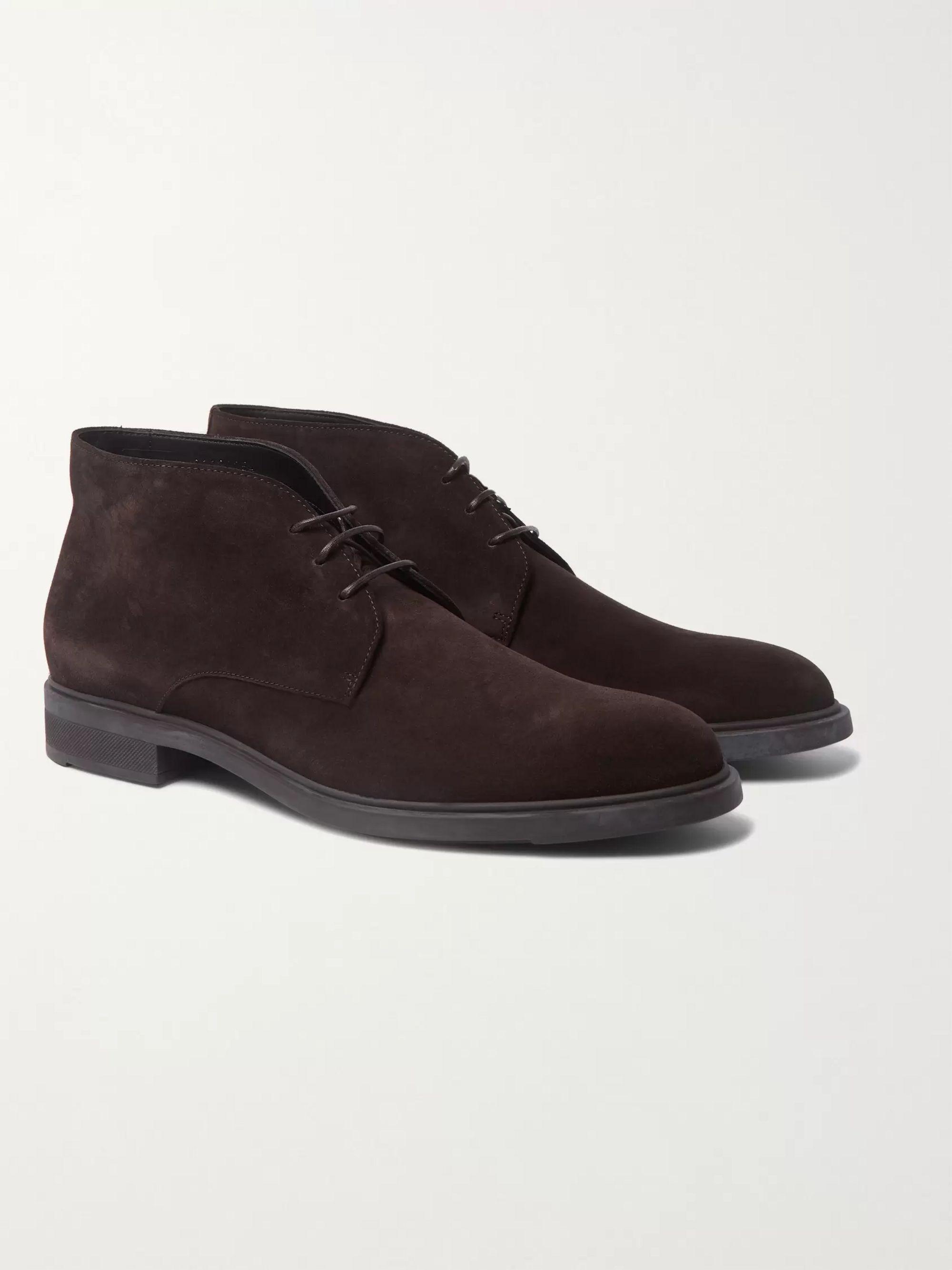 HUGO BOSS Suede Desert Boots
