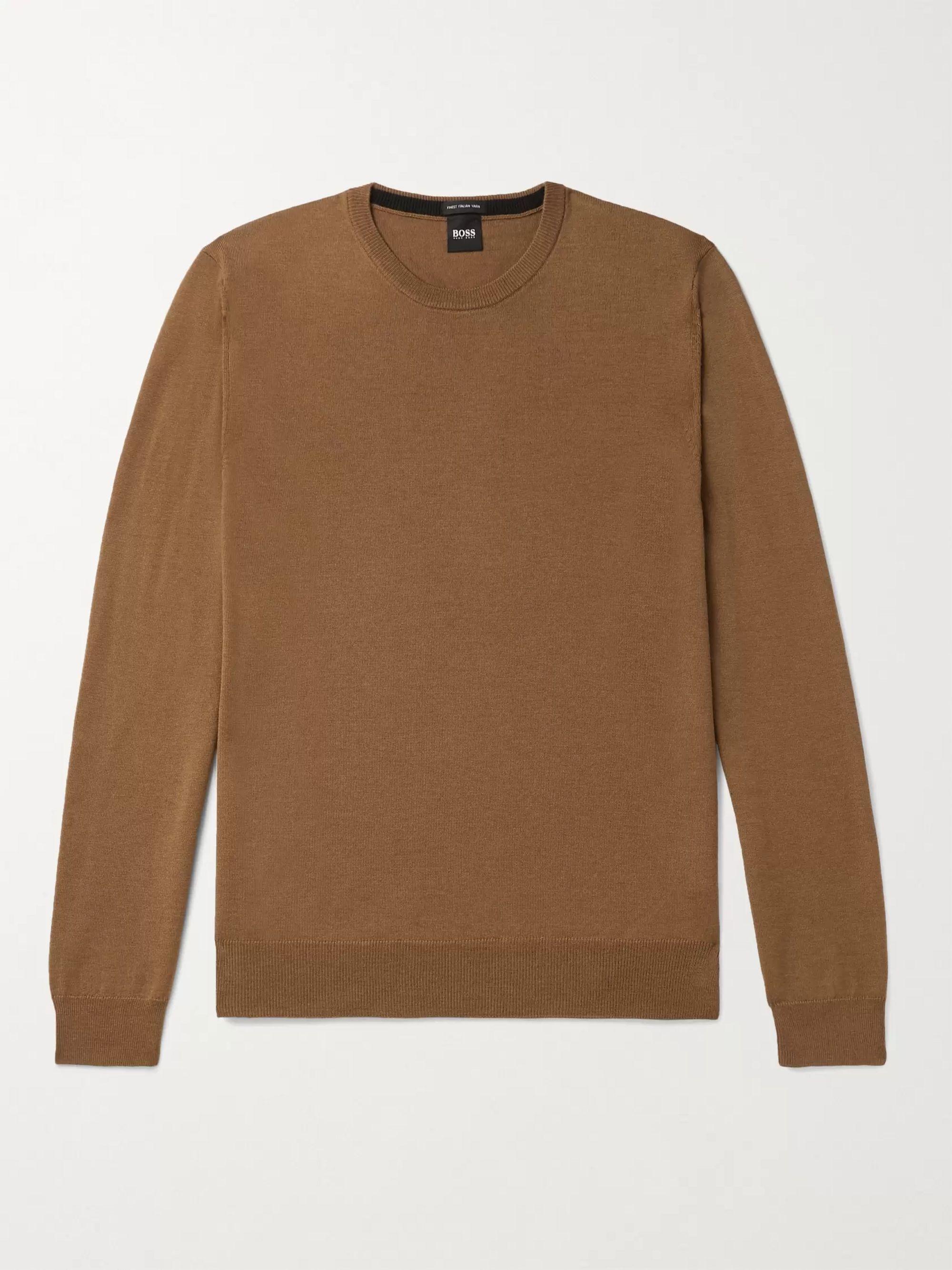 HUGO BOSS Virgin Wool Sweater