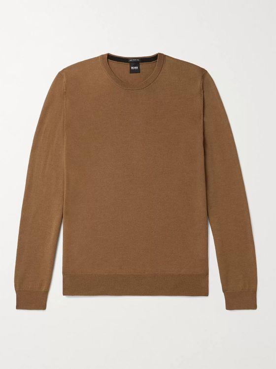 Hugo Boss Virgin Wool Sweater